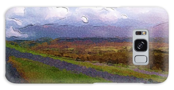 Spean Bridge Painting Galaxy Case