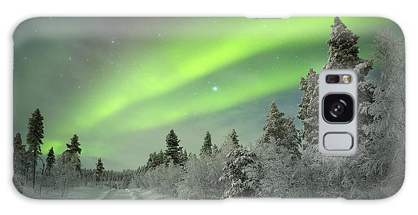 Horizontal Galaxy Case - Spectacular Aurora Borealis Northern by Sara Winter