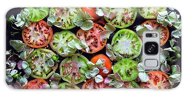 Spiced Tomatoes Galaxy Case