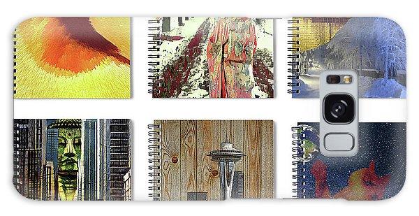 Spiral Notebooks Samples Galaxy Case