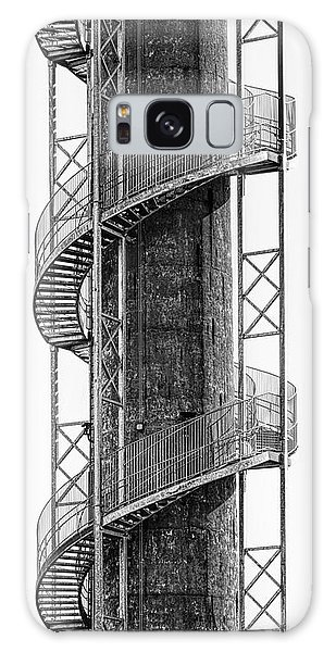 Catwalk Galaxy S8 Case - Spiral Staircase by Tom Mc Nemar