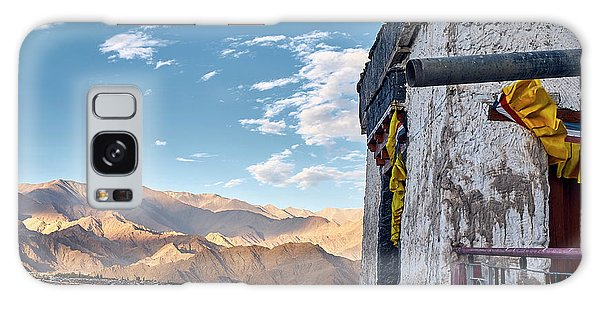 Galaxy Case featuring the photograph Spituk Gompa by Whitney Goodey