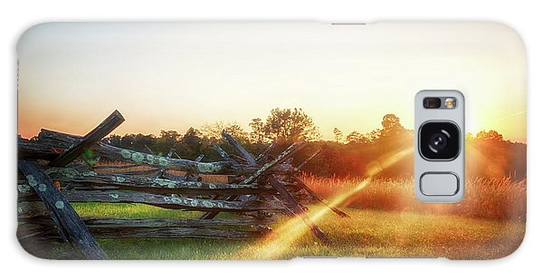 Split-rail Sunset Galaxy Case