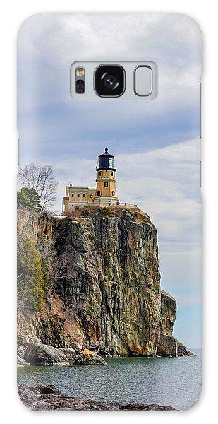 Split Rock Lighthouse Portrait Galaxy Case