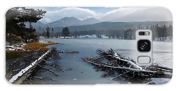 Galaxy Case featuring the photograph Sprague Lake by Dan Miller