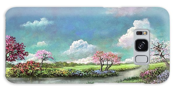 Spring In The Garden Of Eden Galaxy Case