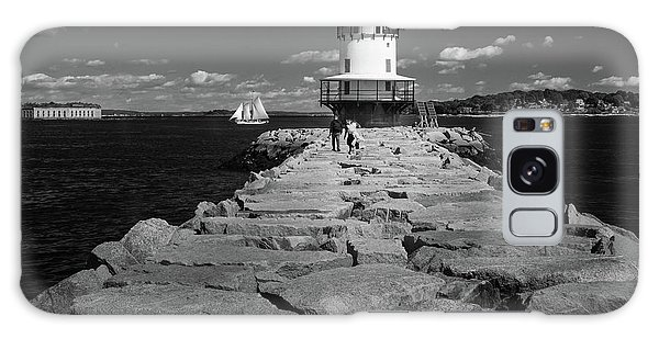 Spring Point Ledge Light Galaxy Case