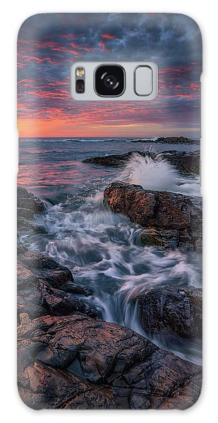 Spring Sunrise At Marginal Way Galaxy Case