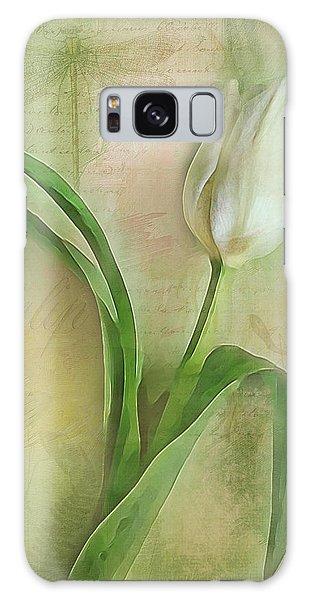 Spring Tulip Montage Galaxy Case