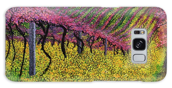 Spring Vineyard Galaxy Case