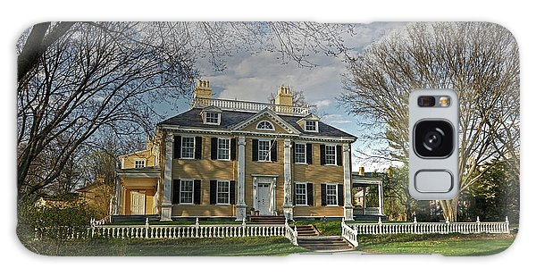 Springtime At Longfellow House Galaxy Case