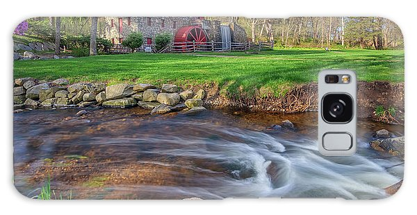 Springtime At The Grist Mill Galaxy Case