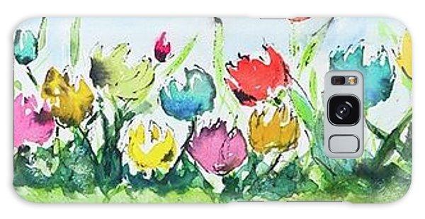 Springtime Tulips Galaxy Case