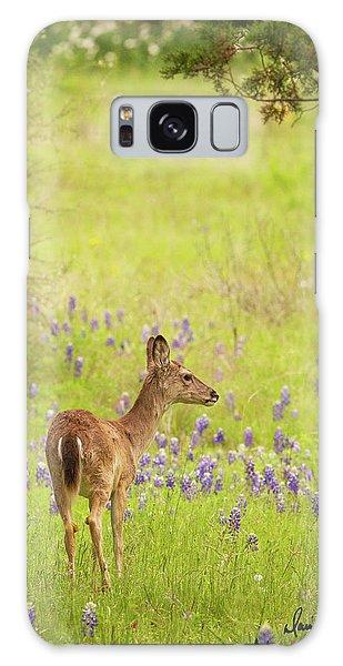 Springtime Whitetail Galaxy Case