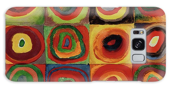 Russian Impressionism Galaxy Case - Squares With Concentric Circles 1913  by Wassily Kandinsky