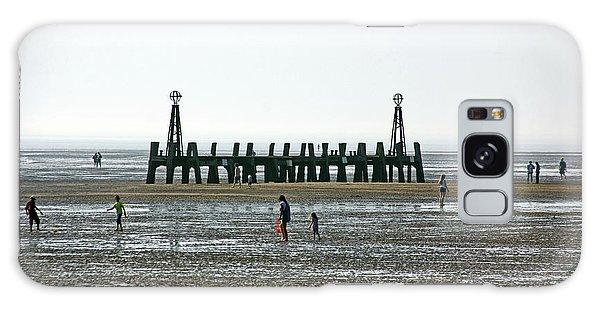 St. Annes. On The Beach. Galaxy Case