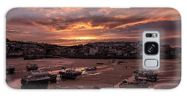 St Ives Cornwall - Harbour Sunset Galaxy Case