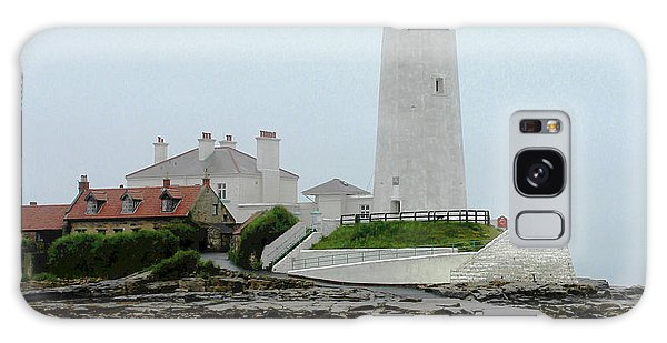 St Mary's Lighthouse Galaxy Case