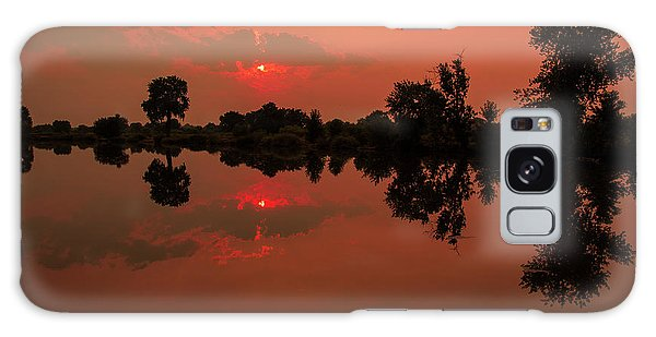St. Vrain Sunset Galaxy Case
