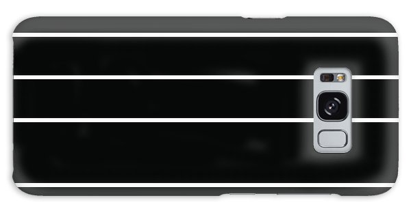 Stacked - Black And White Galaxy Case