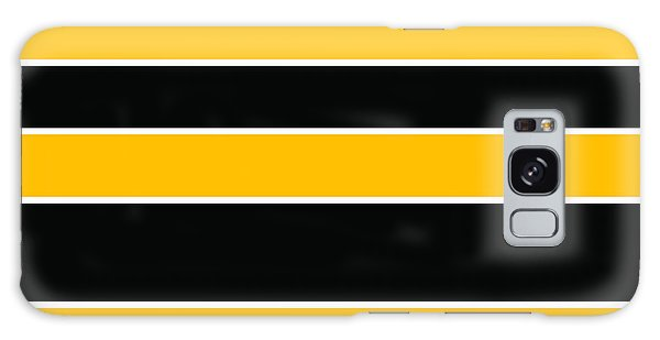 Stacked - Black And Yellow Galaxy Case