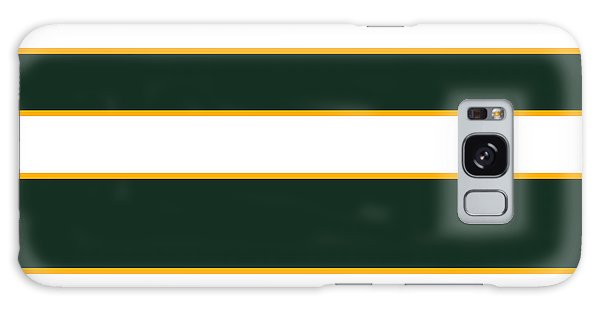 Stacked - Green, White And Yellow Galaxy Case