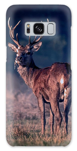 Stag Eating Galaxy Case