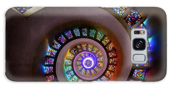 Stained Glass Spiral Galaxy Case