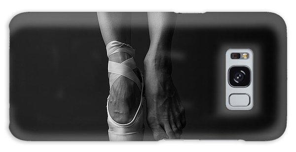 Active Galaxy Case - Standing On Tip Toe, Monochrome by Anna Jurkovska