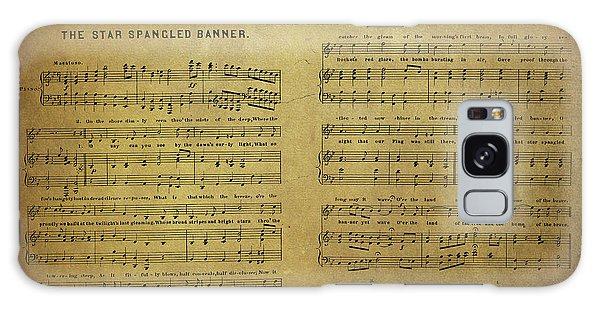 Star Spangled Banner Vintage Sheet Music Galaxy Case