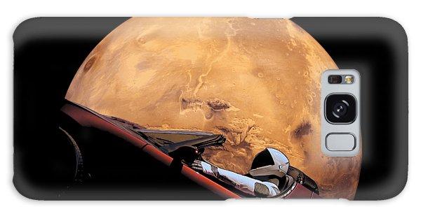 Milky Way Galaxy Case - Starman In Orbit Around Mars by Filip Hellman