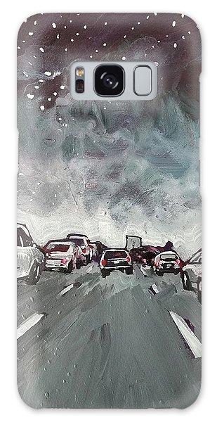 Starry Night Traffic Galaxy Case
