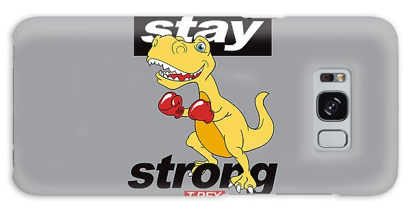 Stay Strong - Baby Room Nursery Art Poster Print Galaxy Case