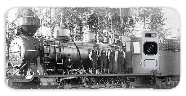 Steam Engine Locomotive 594 Finland Galaxy Case