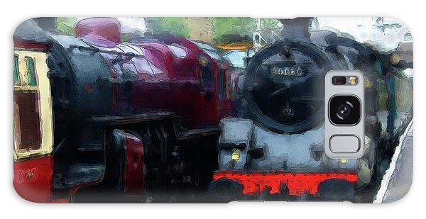 Steam Trains Galaxy Case