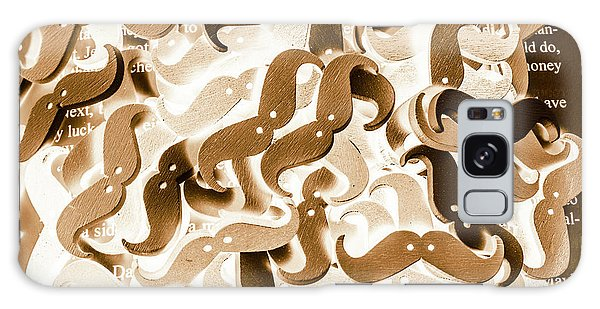 Moustache Galaxy Case - Stiff Upper Lip by Jorgo Photography - Wall Art Gallery