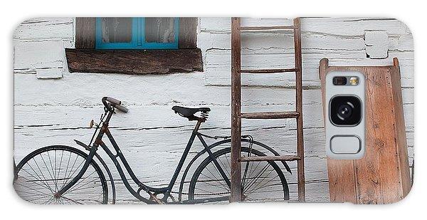 Cottage Galaxy Case - Still Life With Old Barn by Radomir Rezny