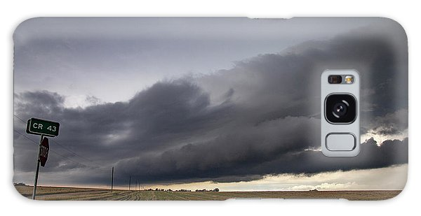 Storm Chasin In Nader Alley 004 Galaxy Case
