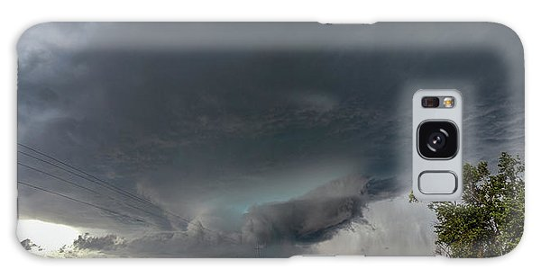 Storm Chasin In Nader Alley 008 Galaxy Case