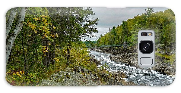 Storm Clouds At Jay Cooke Galaxy Case