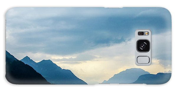 Storm Clouds On Lake Lucerne Galaxy Case