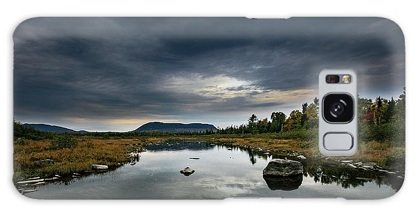 Stormy Day In Maine Galaxy Case