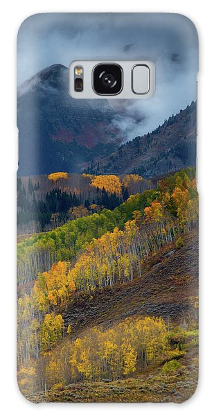 Galaxy Case featuring the photograph Stormy Weather Over The Elks by John De Bord
