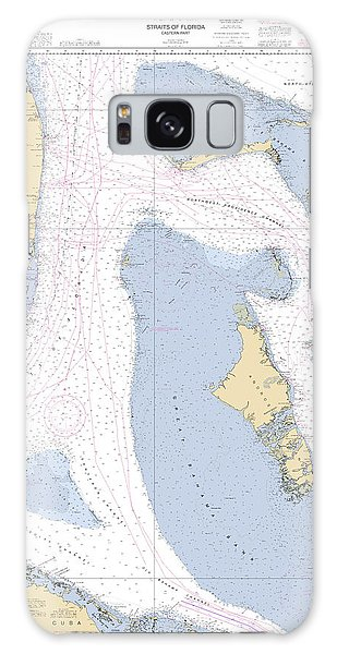 Straits Of Florids, Eastern Part Noaa Chart 4149 Edited. Galaxy Case