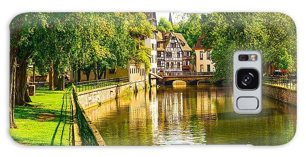Historical Galaxy Case - Strasbourg, Water Canal In Petite by Stevanzz