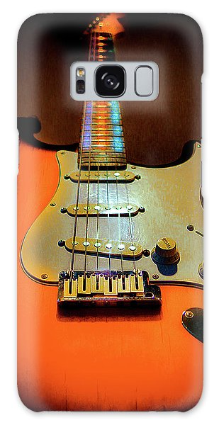 Stratocaster Triburst Glow Neck Series Galaxy Case