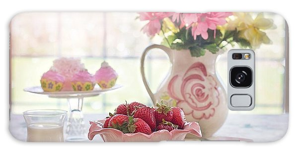 Strawberry Breakfast Galaxy Case