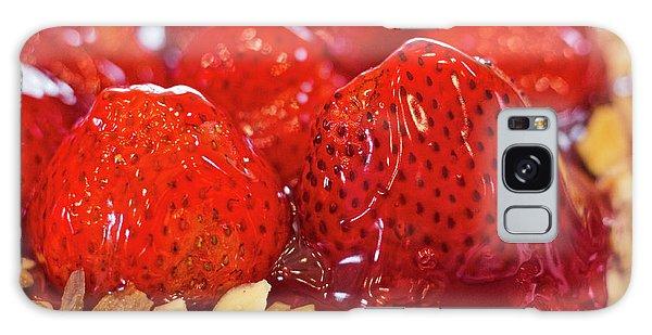 Strawberry Glaze Galaxy Case