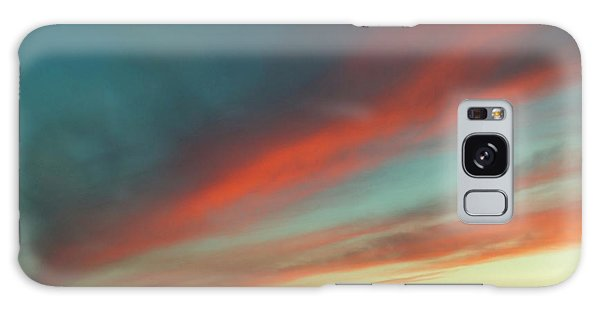 Streaming Sunset Galaxy Case