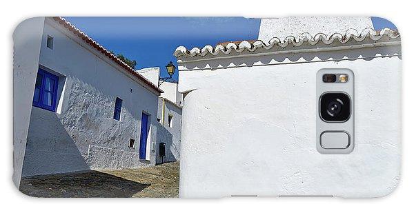 Streets Of A Medieval Castle. Alentejo Galaxy Case